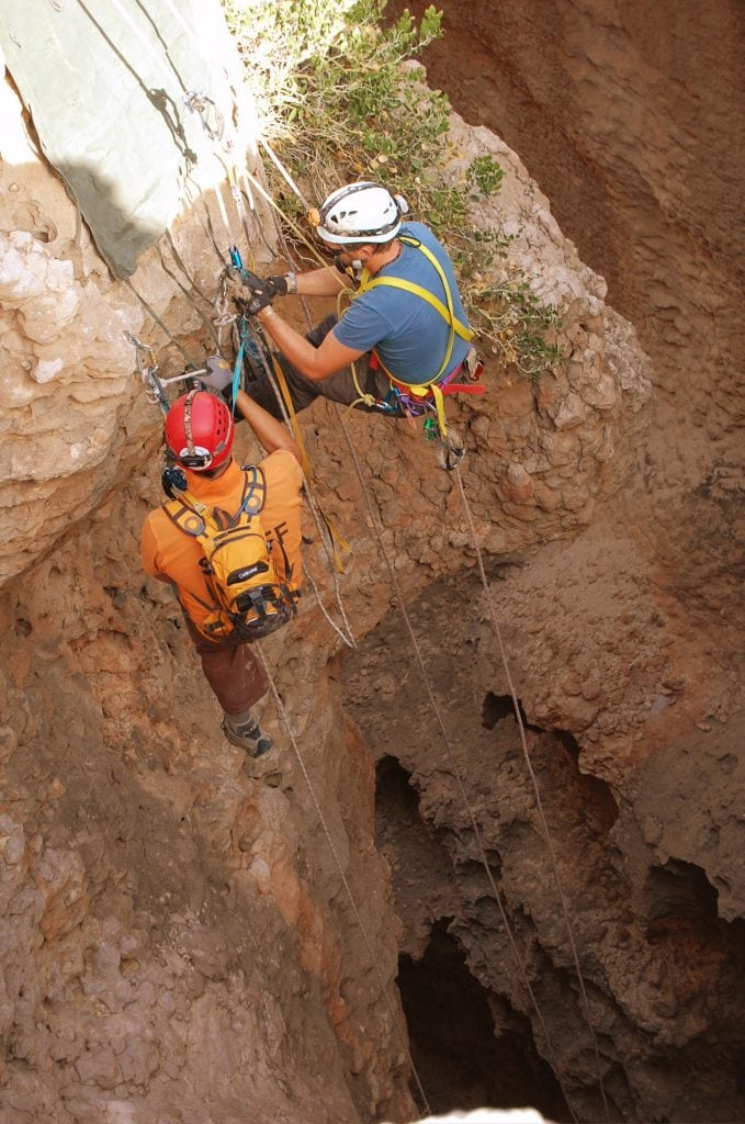 120 metre free hanging Salmah Plateau Ash Sharqiiyah