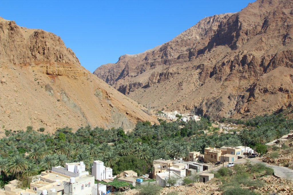 A village at Ash Sharqiyah Wadi Tiwi 76