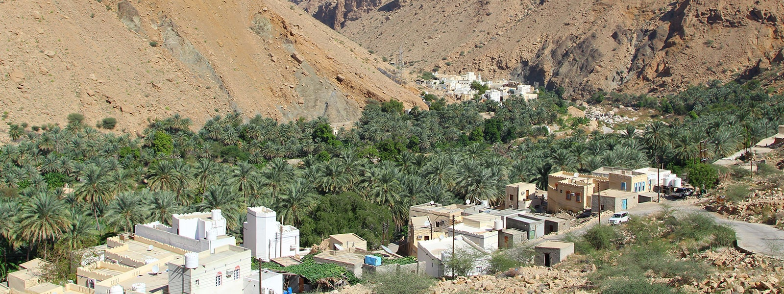 A village at Ash Sharqiyah Wadi Tiwi