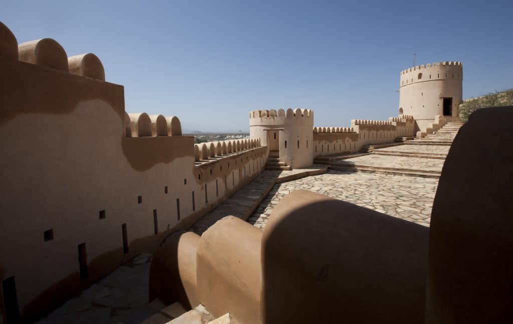 Al Batinah Top view Nakhal fort Nakhal Al Batinah Oman