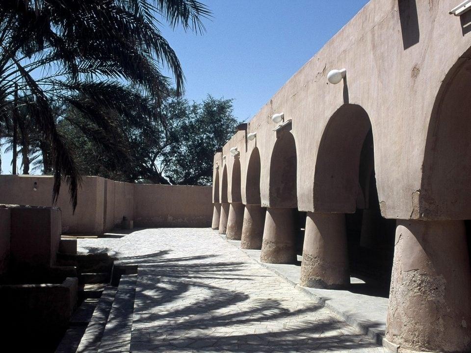 Ash Sharqiyah Exterior view of a mosque of Rashid Bin Hamouda in Jalan Bani Bu Ali Ash Sharqiyah Oman