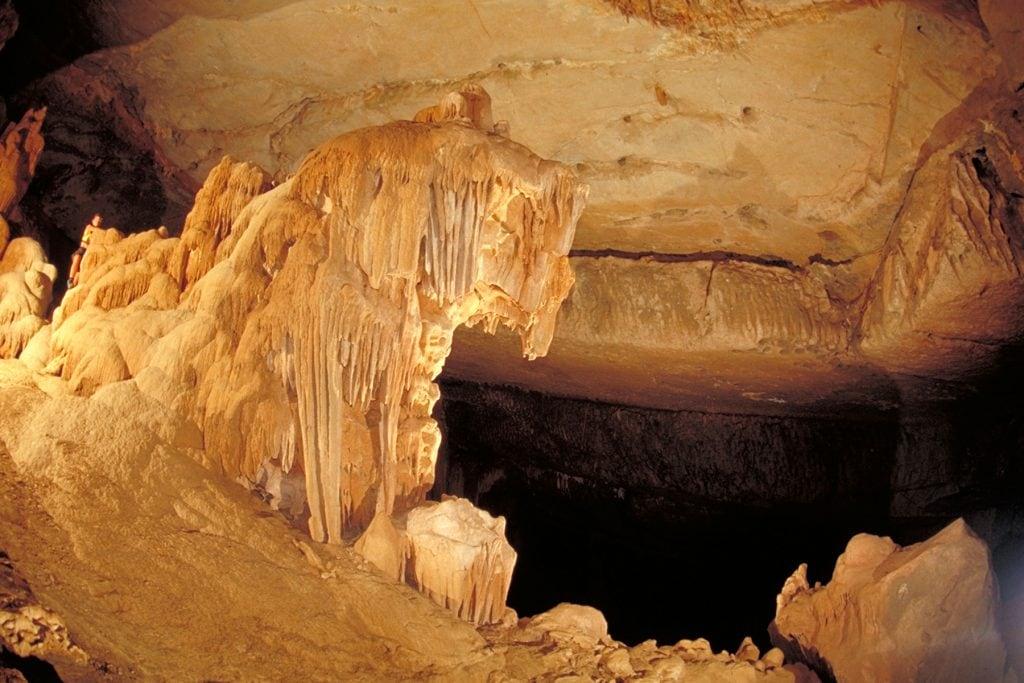 Caves Al Hoota Cave Interior Nizwa Ad Dakhiliyah Oman