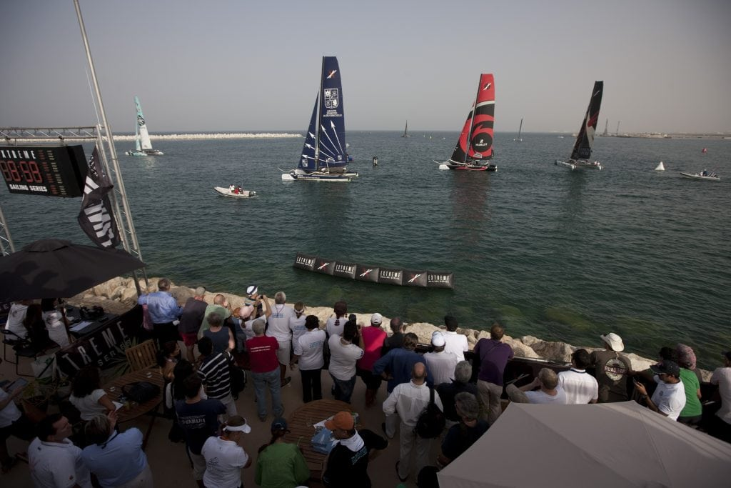 Extreme Sailing Series 2012 Oman Sail The Wave Muscat 1