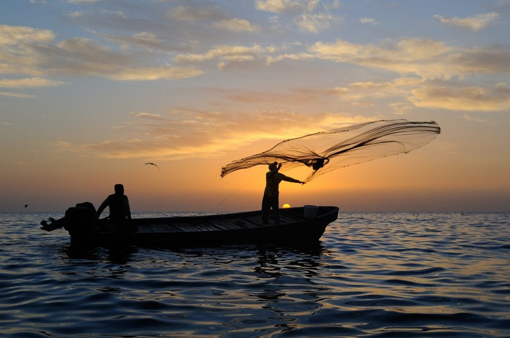 Heritage and crafts Omani Fishermen in the Al Hallaniyat Islands