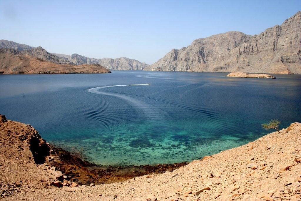مضيق خصب بمسندم - عمان