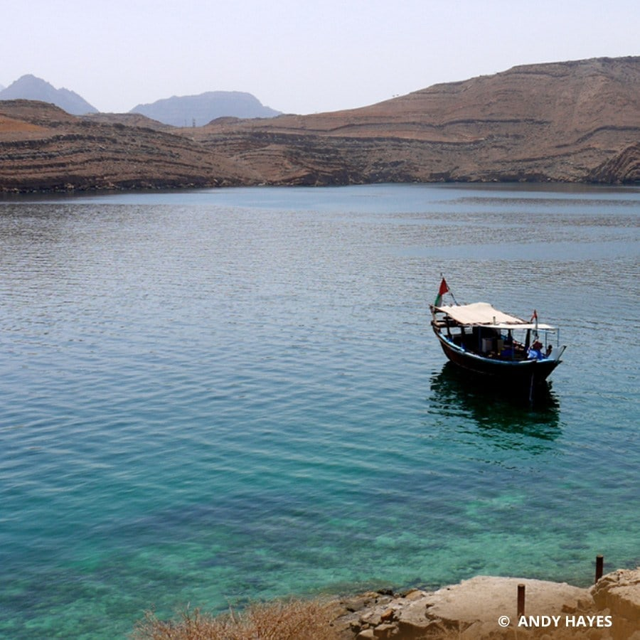 Places to explore Musandam Telegraph Island
