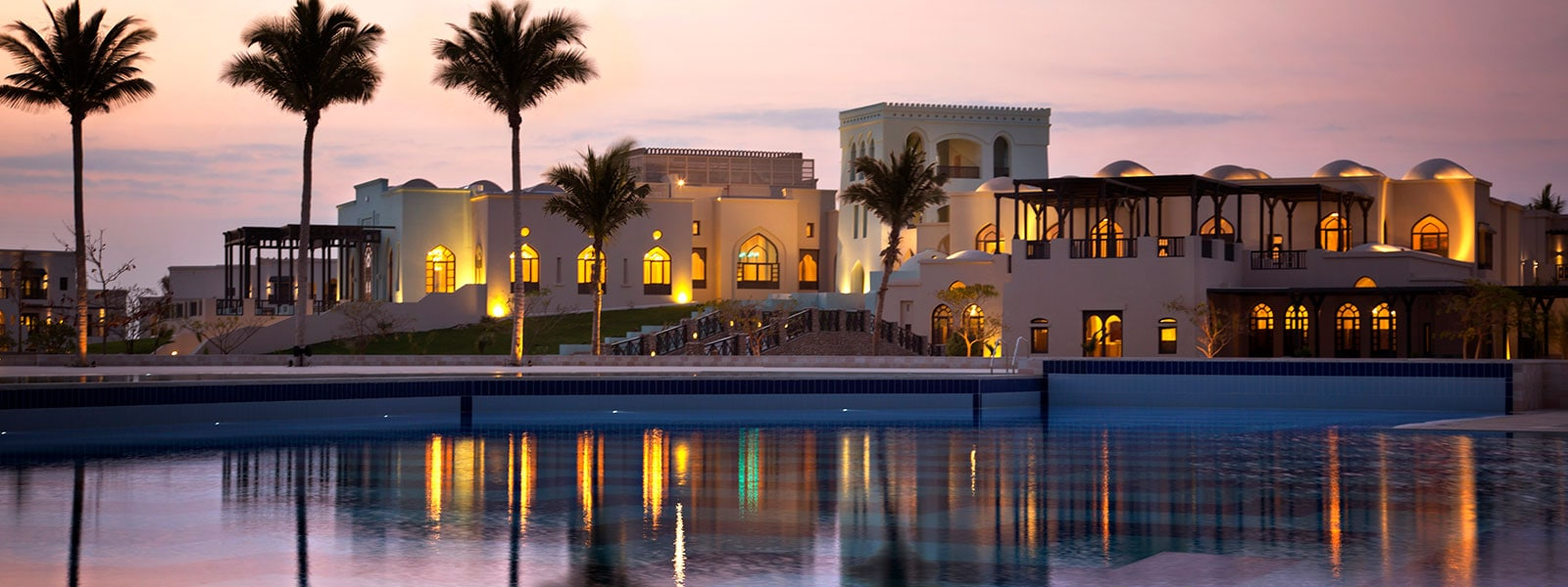 Salalah Rotana Resort Salalah Dhofar Poolside View