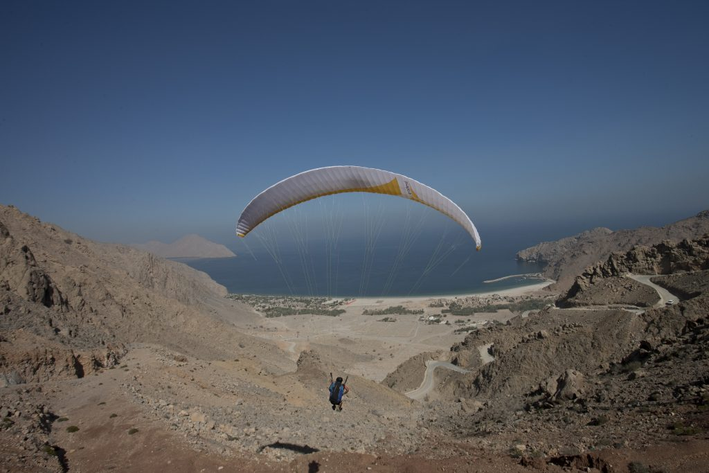 Six Senses Zighy Bay Dibba Musandam 18 Paraglide Arrival