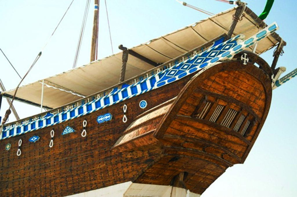 Traditional Dhow in Sur Oman