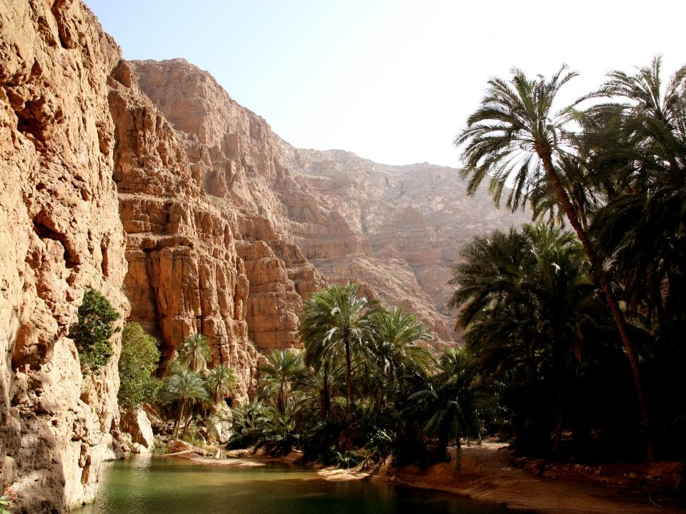 وادي شاب الشرقية عُمان