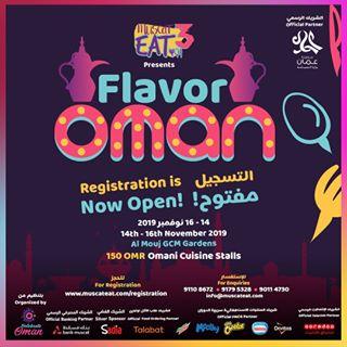 Flavor Oman poster