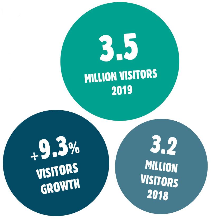 visitor statistics